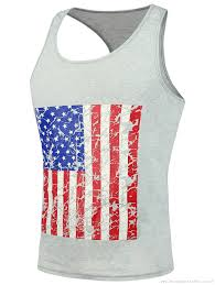 Black American Flag Tank Top Menstanktop Cheap Clothes Shoes Jewelry And Bags Online Cheap