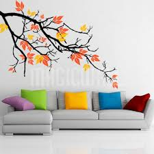 Beautiful Wall Stickers wall decals pretty autumnal branch wall stickers