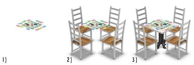 table activit b b avec siege around the sims 4 custom content objects board