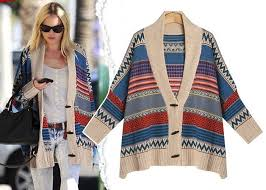 tribal sweater fashion womens indian tribal sweater cardigans bat sleeve plus