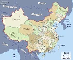 map of china 2018 map of china airports important airports in china