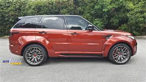 land rover hamann the hamann feature range rover sport equipped with hamann u0027s wide