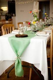 mint wedding decorations mint green burlap table runner mint wedding decor seafoam