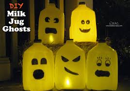 Halloween Ghost Lights Diy Milk Jug Ghosts Who Needs A Cape