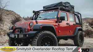 Smittybuilt Roof Rack by Day 7 Smittybilt Overlander Rooftop Tent Bolt Lock Jeep Jk Hood