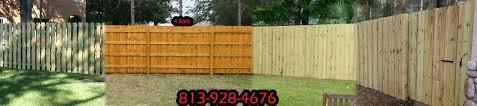 florida wood wood fence vinyl fence aluminum fence plant city fl