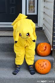 Pikachu Costume Homemade Pikachu Costume And Next Comes L