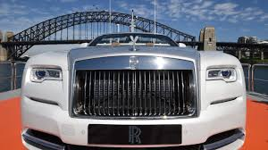 rolls royce supercar rolls royce unveil its new super car in style on sydney harbour