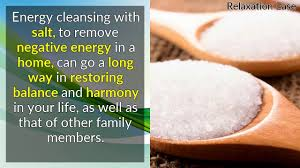 how to remove negative energy from home energy clearing with salt remove negative energy in a home youtube