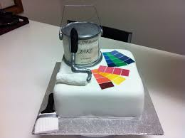 birthday cake for a house painter cakes pinterest house