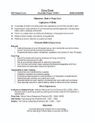 Fast Food Resume Example by Resume Work Experience Fast Food Virtren Com