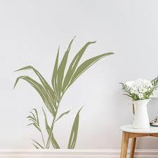 palm tree home decor modern home decoration ideas with palm leaf stem wall decal