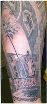 Tropical Themed Tattoos - asian tiger themed sleeve tattoo tattooimages biz
