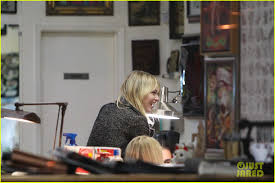 emma stone shamrock tattoo parlor with a gal pal photo 2740145
