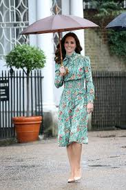 kate middleton dresses kate middleton wearing prada poppy print dress popsugar fashion