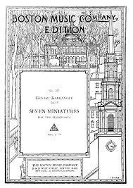 miniatures op 10 korganov genary imslp petrucci music