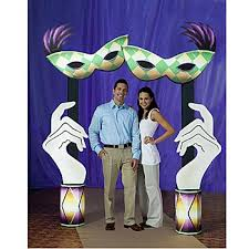mardis gras decorations the coolest mardi gras decorations for your theme wedding