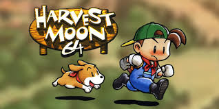 harvest moon harvest moon 64 nintendo 64 games nintendo
