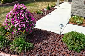 red lava rock indianapolis decorative rock mccarty mulch