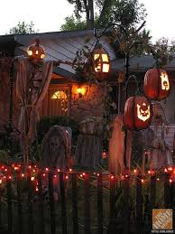 Outdoor Halloween Decorations For Trees by Rooftop Halloween Decorations Interiors Design