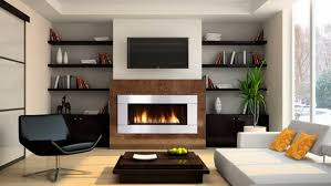 Contemporary Gas Fireplaces by Furniture U0026 Accessories Contemporary Ventless Gas Fireplace