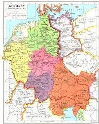 map of deutschland germany whkmla historical atlas bavaria page