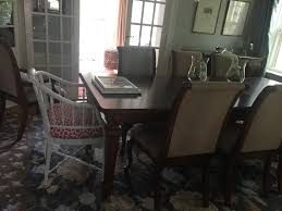 faux bamboo dining room chairs home with keki