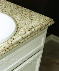 wonderful double sink bathroom countertop 1 mode halfinch bevel cool granite vanity top with ogee bullnose edge also bathroom sink and white cabinets
