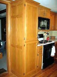 Oak Kitchen Pantry Storage Cabinet Marvelous Oak Pantry Cabinet Choosepeace Me
