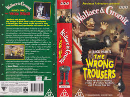 Bbc Creature Comforts Image Thewrongtrousersaussievhs Jpg Wallace And Gromit Wiki