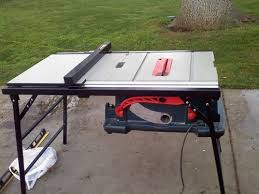bosch table saw accessories folding table saw stand costa home