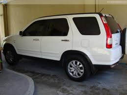 honda crv white honda crv white a t 2006 acquired 2007