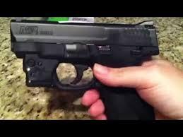 m p shield laser light combo viridian r5 green laser for m p shield youtube