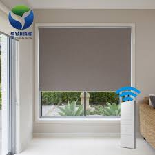 motorized hotel window fabric curtain automatic fabric roller