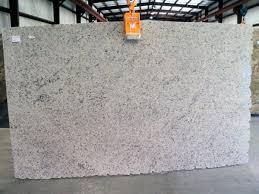 white granite slab 59516
