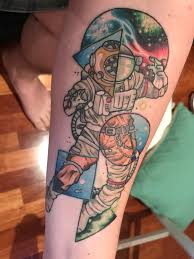 my latest piece austronaut deep sea diver done by janelle at
