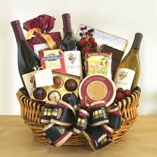wine gift basket golden state wine and gourmet food gift california delicious
