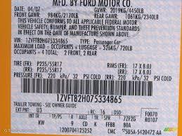 2007 mustang color code u3 for grabber orange photo 55171869