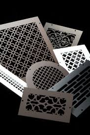 Cabinet Door Ventilation Grills Custom Metal Registers And Air Return Grilles Vent Covers Unlimited