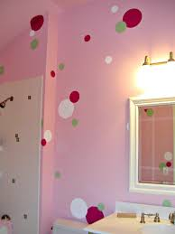 how to make perfectly painted polka dots for diy projects