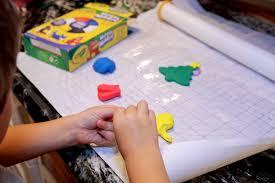 toddler diy project crayola model magic ornaments