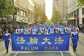 seattle washington falun dafa in macy s parade falun