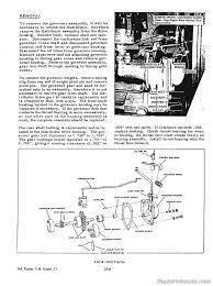 allis chalmers i60 i600 tractor service manual