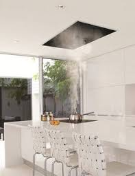 kitchen island extractor fans flush ceiling mount range a great alternative for open space