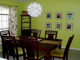 Dining Room Wall Paint Ideas by Beautiful Cool Dark Brown Dining Table Sets Also Nice Green Dining