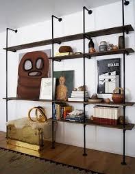 How To Make A Pipe Bookshelf Diy Mounted Shelving Shelving Shelves And Apartments
