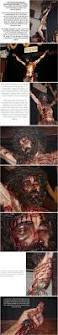 jesus crucified as on shroud of turin traditional catholic priest