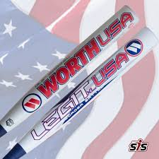 worth legit slowpitch softball bat 2017 worth legit usa xl 13 5 border battle edition slowpitch