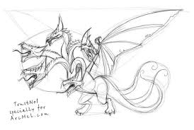 how to draw a dragon step by step arcmel com
