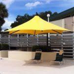 Large Cantilever Patio Umbrella Large Under Ground